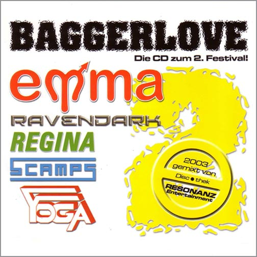 Various Artists - Baggerlove Compilation 2 (Rückseite)