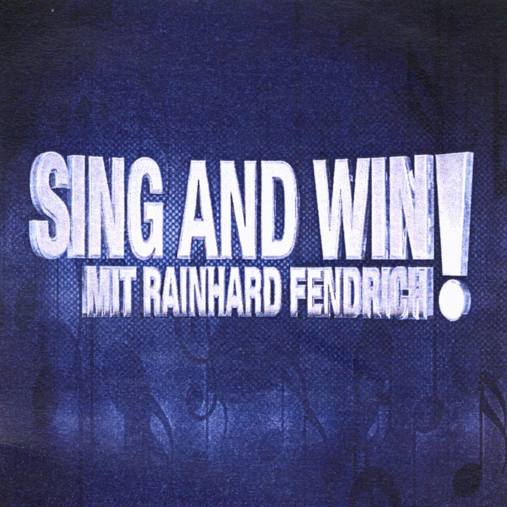 Sing and win Rainhard Fendrich ATV Tresor