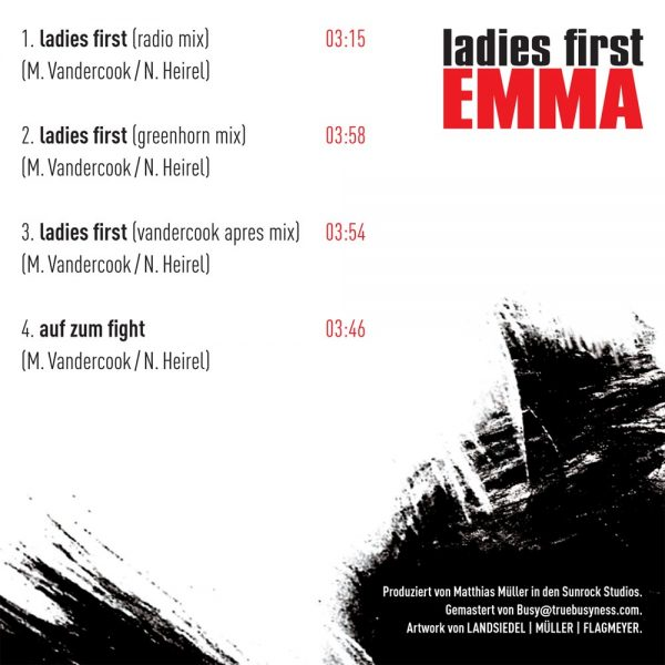 Emma - Ladies first (Rückseite)